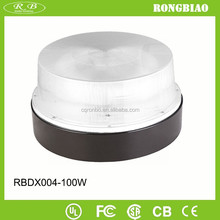 General Purpose 100W Round Plastic Ceiling Light Covers