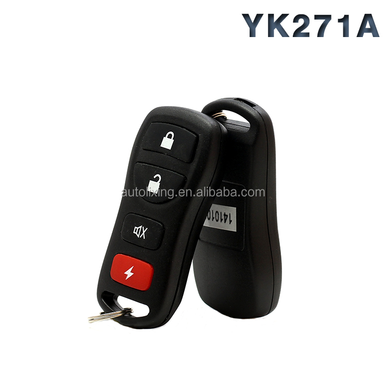 Keyless entry system Easy Install One Way Talking Car Alarm System Remote Control Car Alarm