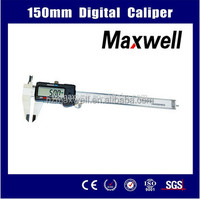 150mm Mitutoyo Digital Vernier Caliper Price CE ROHS