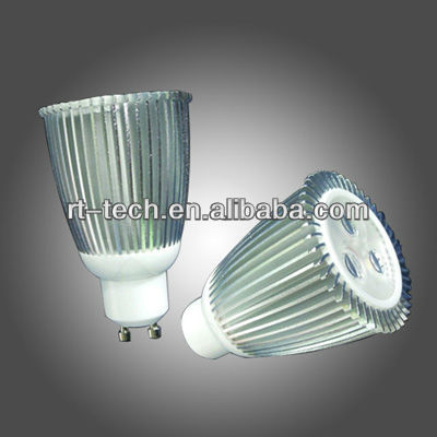 GU10 led spotlight 3w 9w 12w high power bulb lamp