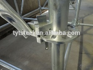 New design high quality of q235 or q345 steel ringlock scaffolding with low price
