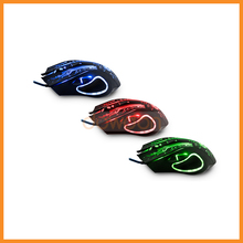 PC Computer Laptop 2400DPI LED Optical 6D USB Wired Game Gaming Mouse