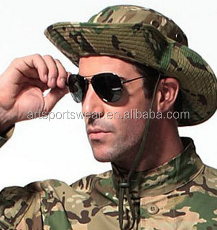 Thicken MULTICAM HAT Military Camouflage BOONIE HAT Hunting Hiking Climbing Camping Bucket Hats