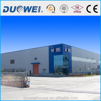 Warehouse factory steel structure