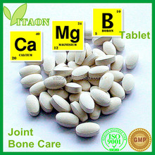 1800 Mg ISO GMP Certificate and OEM Private Label Calcium Carbonate and Boron and Calcium Magnesium Zinc Tablets