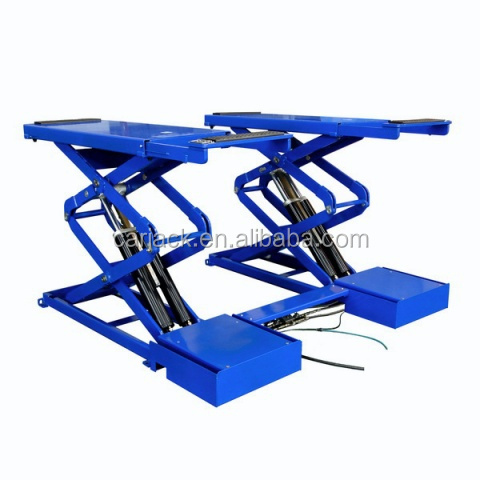 3.5Ton inground / on ground Hydraulic Mobile Scissor Car Lift / Vechicle Lift