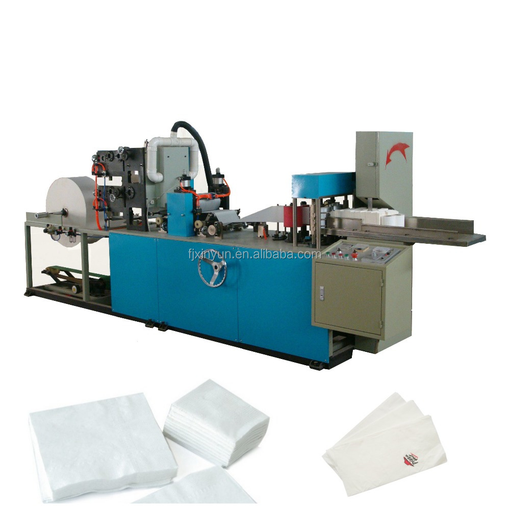 125mm automatic v-fold napkin towel folding machine