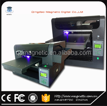 Direct to uv flatbed printer a3/uv flatbed printing machine