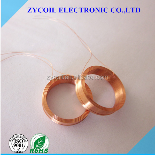 Self-bonding Custom Hollow Inductor Coil With High Quality