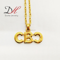 High Qulity Fashion Gold Alphabet Sweater Necklace