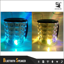 Portable Bluetooth Wireless Speaker with LED Light for Mobile Phone Tablet PC