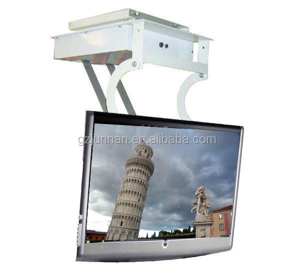 Motorized lcd led tv flip down lift ceiling mount 32 40 for Motorized flip down tv mount