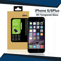 Cell Phone Full Screen Cover 9H 0.33mm 2.5d tempered glass screen protector for iphone 6