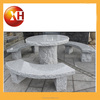 Beer garden stone table and bench and chair for cheap prices
