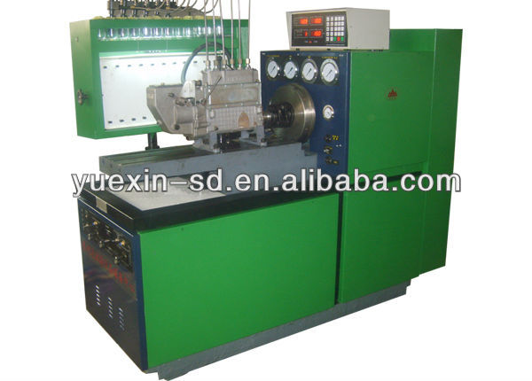12psbdiesel Fuel Injection Pump Test Bench Electric Motor