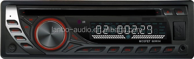 Hot sale remote control universal detachable panel one din car dvd 24v car audio