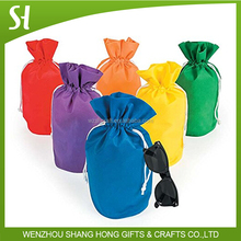promotional polyester drawstring bag/dry cleaning nylon laundry bag