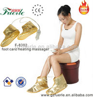 fashionble electric heating shoes with massage function