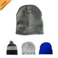 popular soccer logo printed customized beanie