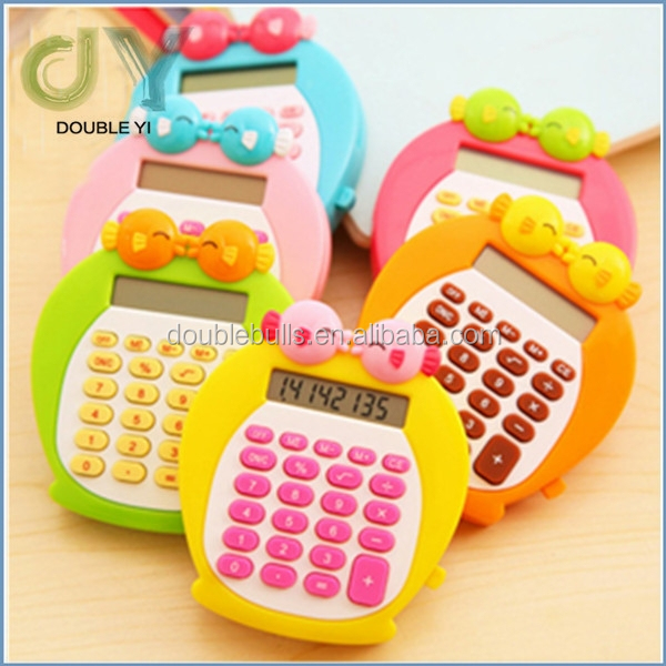 Custom Promotional Portable Cute mini calculators
