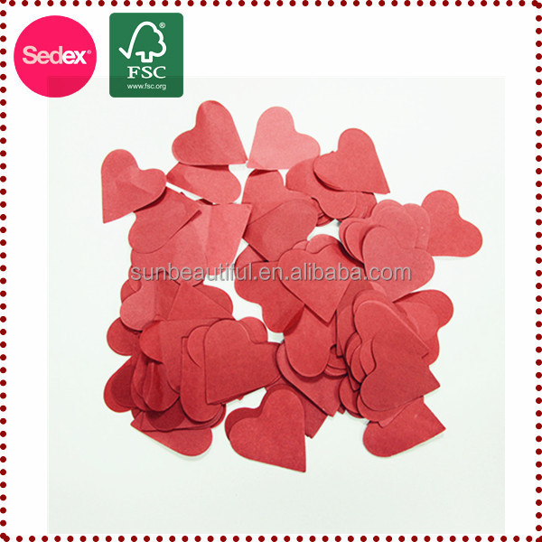 Biodegradable tissue paper confetti for party decoration