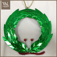 Green christmas wreath for party decoration christmas