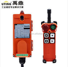 Ningbo Uting winch wireless remote control circuit 12v 24v F21-4S 220 volts remote control on off switch