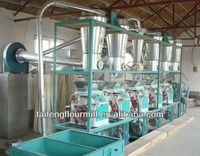 Hot sale 18-25T/D commercial wheat flour milling machine with price