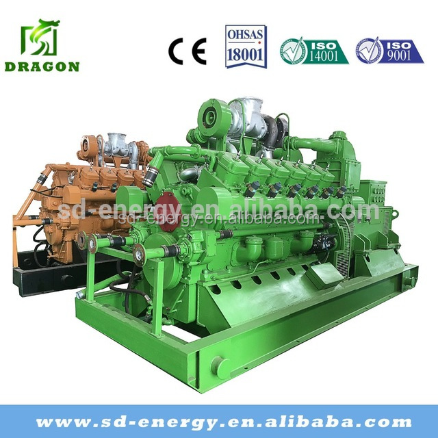 500KW Cogenerator natural gas generator fuel LPG,LNG,CNG gas engine generator