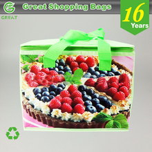 Fresh cake delivery bag