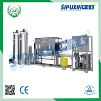 Sipuxin carbon filter drinking water treatment plant