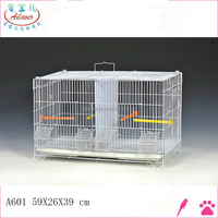 small decorative wire High Quality Steel Bird Cage with feeders balls