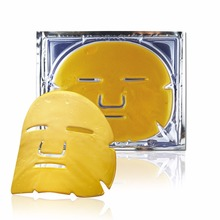 Private Label 24k Gold Face Mask Collagen Wholesale Facial Mask For Whitening And Moisturizing