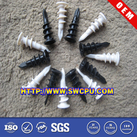 Plastic rivet panel trim clip