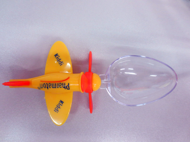 Supply plastic airplane Fork Spoon