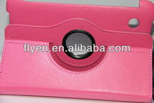 "PU Leather Lichi Pattern 360 Rotating Case Cover For Samsung Galaxy tab 2 7.0"" 7"" P3100 P3110"