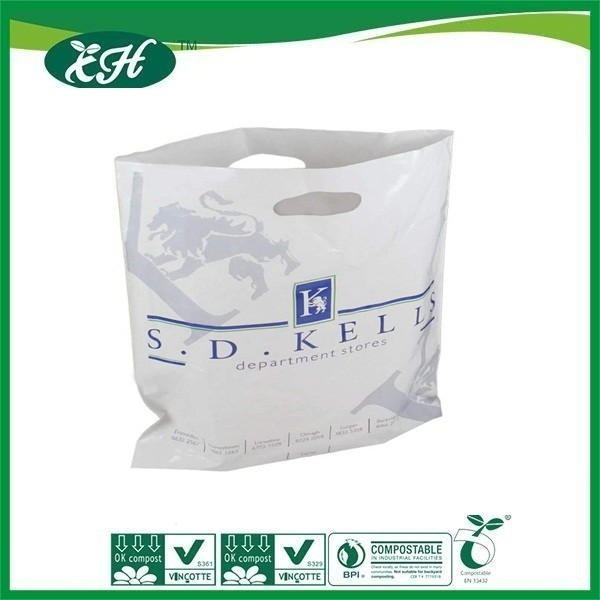 wholesale promotional customized decorative plastic shopping bag