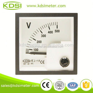 Industrial universal BE-48 AC500V ac/dc ammeter voltmeter