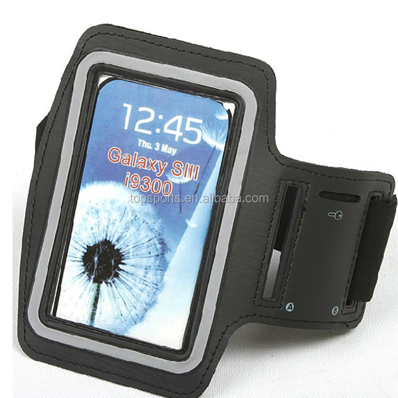 Running Waterproof Neoprene armband case For iphone 6 For Sumsang