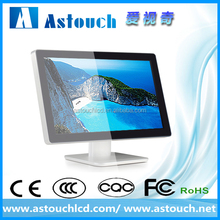 22 inch flat touch screen monitor for pos system/shopping mall