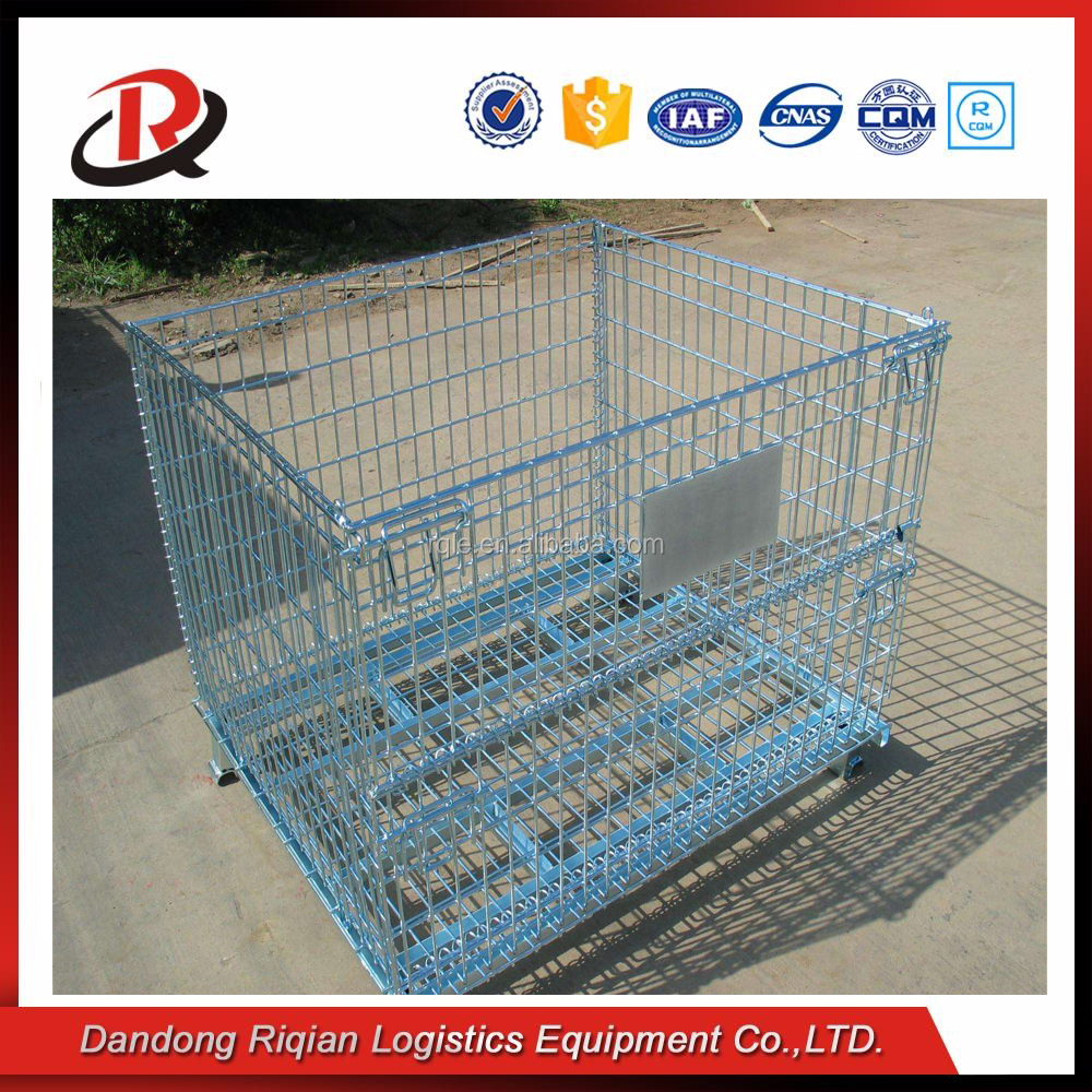 Galvanized reinforcement logistic stainless steel cage