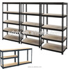 5 Tier rack with partical board in powder coating Best Suited for Heavy Duty Applications