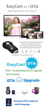 EasyCast Wireless WIFI 1080P DLNA Airplay Miracast Google Chrome Cast TV Stick