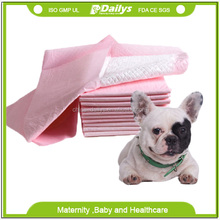 China disposable waterproof pet pee pad for dogs and cats