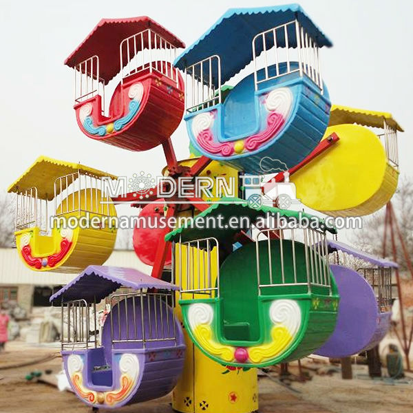 Amusement kiddie rides ferris wheel for sale