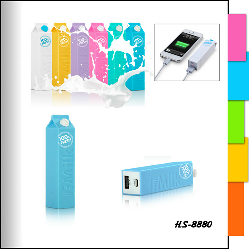 2015 Top sale card Colorful 5000mah power bank