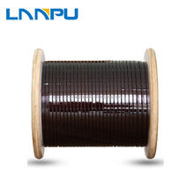 polyamide- imide enamelled color coated flat aluminum wire for transformer