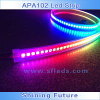 apa102 led controller wifi remote control light,access route,addressable led strip with IP67 protection