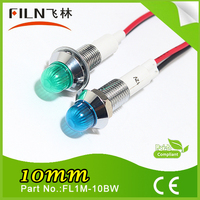 Excellent resistance to impact 10mm Big head waterproof metal silver liquid mercury with wire