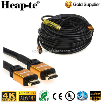 High Speed 30m HDMI Cable Active with Ethernet - with Repeater 4K 2.0 3D
